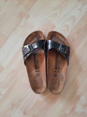 Birkenstock Sandalias para uso en exteriores marrón grisáceo-gris verdoso