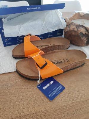 Birkenstock Outdoor sandalen oranje