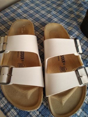 Birkenstock Wygodne sandały biały