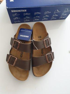 Birkenstock Sandales confort brun