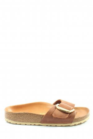 Birkenstock Sandały outdoor brązowy Elegancki