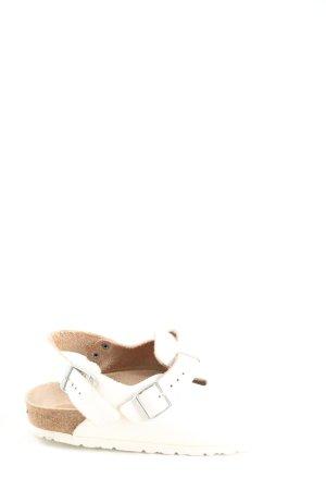 Birkenstock Pantofle biały W stylu casual
