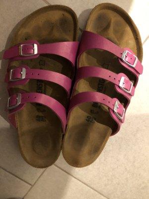 Birkenstock Comfortabele sandalen magenta
