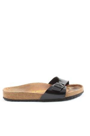 Birkenstock Riemchen-Sandalen schwarz Casual-Look