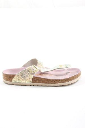 Birkenstock Flip flop sandalen veelkleurig wetlook