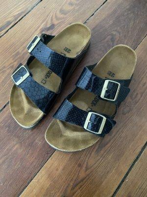 Birkenstock Sandales confort noir