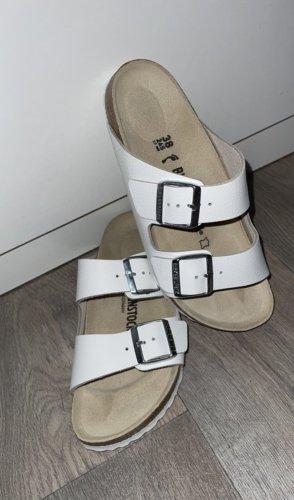 Birkenstock Sandalias para uso en exteriores blanco-marrón