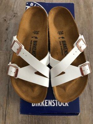 Birkenstock Sandalen, 36, weiß, YAO Balance