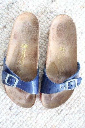 Birkenstock Comfortabele sandalen blauw-rood