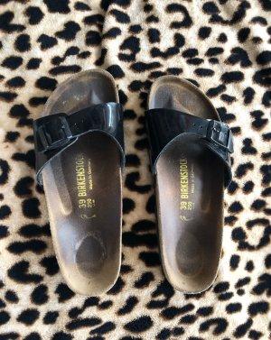 Birkenstock Sandales confort noir-brun