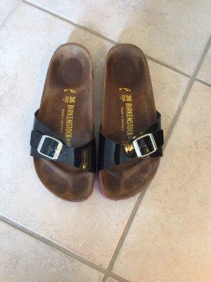 Birkenstock Comfort Sandals black-pink