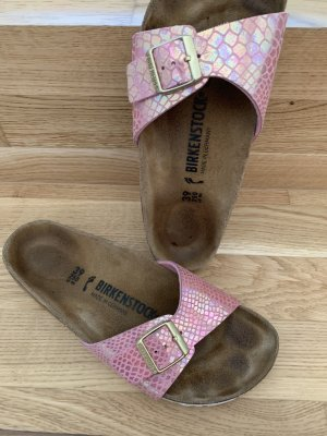 Birkenstock Strapped High-Heeled Sandals multicolored