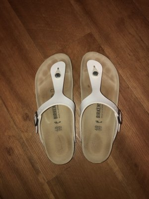 Birkenstock Toe-Post sandals white