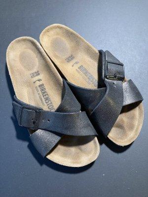 Birkenstock Sandalo comodo multicolore Tessuto misto