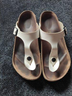 Birkenstock Sandały korkowe  biały