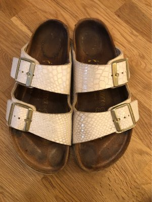 Birkenstock Sandalo comodo bianco sporco