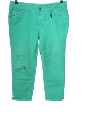 Birkhahn Jeans 3/4 turquoise style décontracté