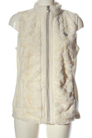Birkhahn Fake Fur Vest cream elegant