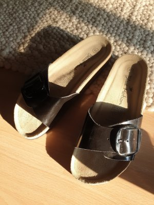 Blue Motion Sandalias cómodas negro