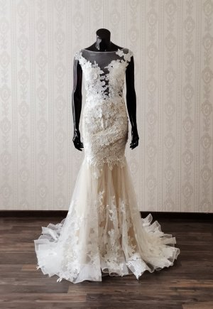 Vestido de novia multicolor
