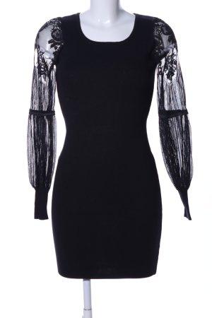 Bisou Bisou Spitzenkleid schwarz Elegant