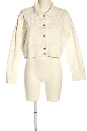 Bisou's Project Short Jacket cream casual look