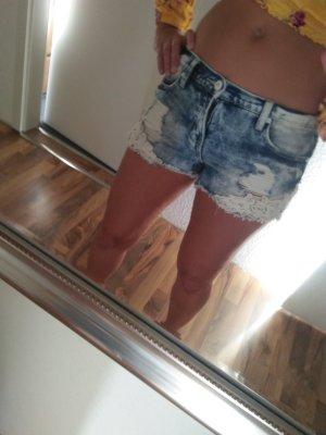 Super sexy Short Hotpants Vintage Romantik Shabby Verspielt Details HOT 34-36 36 S xs-s fb sister