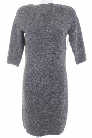 Bitte Kai Rand Etuikleid grau-silberfarben meliert