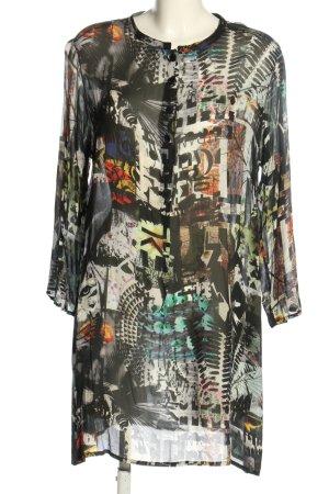 Bitte Kai Rand Transparante blouse volledige print casual uitstraling