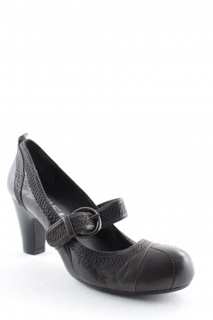 Biviel Strapped pumps dark brown casual look
