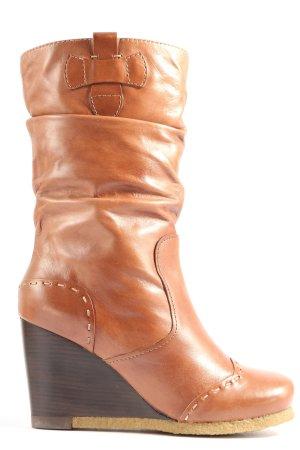 Biviel Jackboots brown casual look