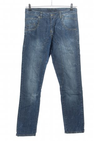 Björkvin Baggy jeans blauw casual uitstraling
