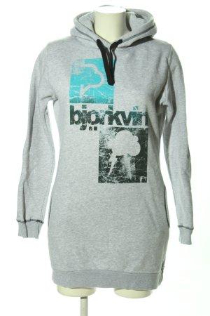 Björkvin Kapuzensweatshirt meliert Casual-Look