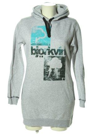 Björkvin Hooded Sweatshirt flecked casual look