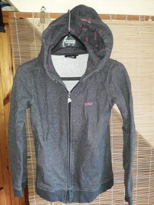 Björkvin Hooded Sweatshirt grey cotton