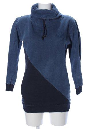 Björkvin Sweatshirt blau-schwarz Casual-Look