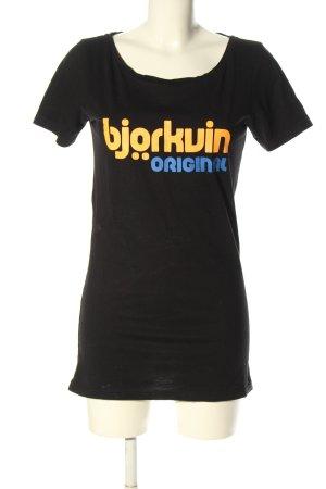 Björkvin T-shirt Wydrukowane logo W stylu casual