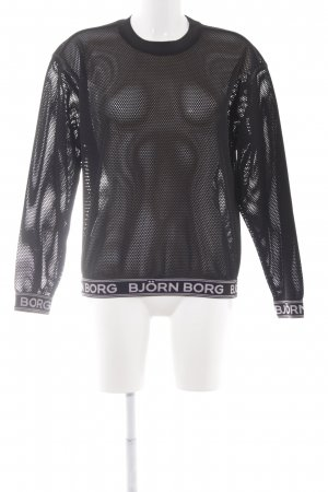 Björn Borg Crewneck Sweater black athletic style