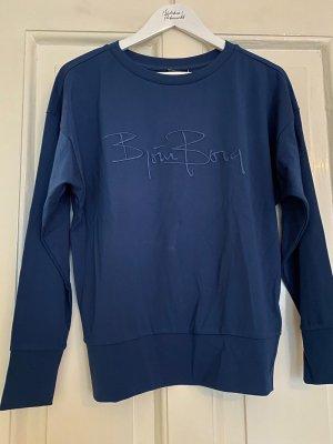 Björn Borg Sweat Shirt dark blue synthetic fibre