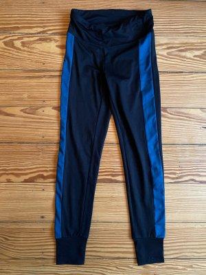 Björn Borg Pantalone da ginnastica blu scuro Fibra sintetica