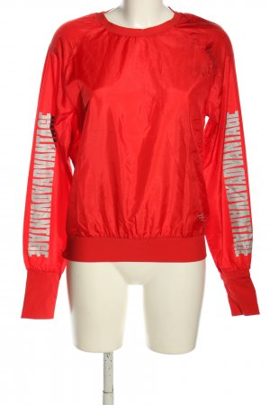 Björn Borg Sports Shirt red-silver-colored printed lettering casual look