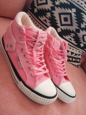 British Knights High top sneaker roze
