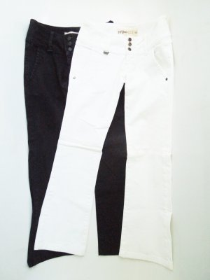 Black and White - Challenge! Zara Jeans Gr.: 34 - Set!