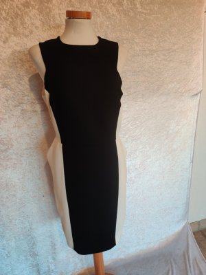 Black and White hippes Business Kleid