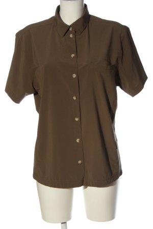 Black Bear Camicia a maniche corte marrone stile casual