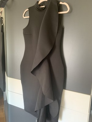 Black bondage dress