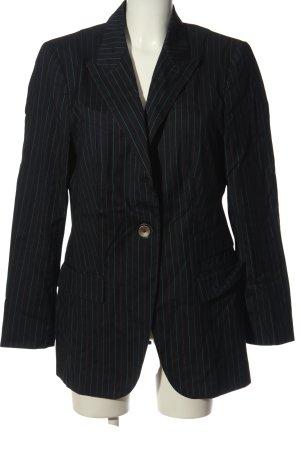 Black Dress Berlin Kurz-Blazer blau-weiß Streifenmuster Casual-Look