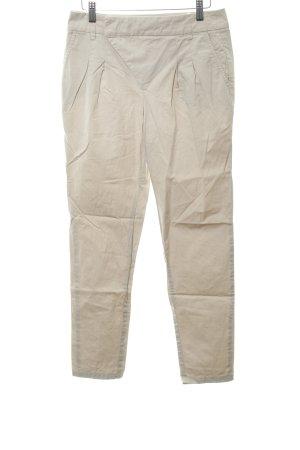 Black Label Pantalon chinos crème style décontracté