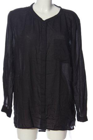 Black Lily Shirt met lange mouwen zwart casual uitstraling
