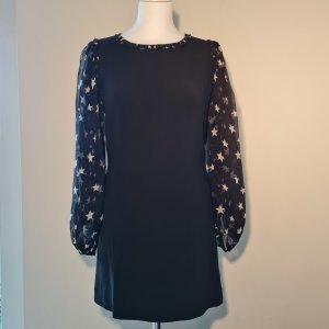 Black Mini dress with statement sleeves - D&G